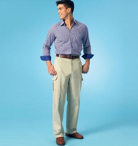 Kwik Sew Men's Shorts and Pants 4045
