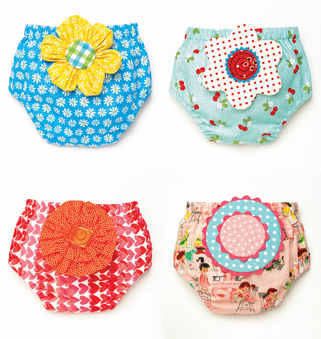 Kwik Sew Baby Diaper Covers 4052