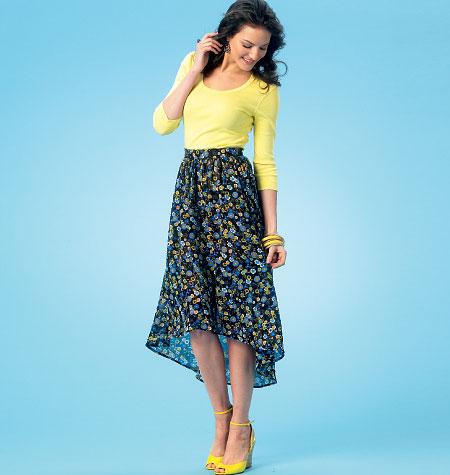 Kwik Sew Misses' Skirts 4061