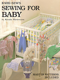 Kwik Sew Sewing for Babies Master Pattern Book ks-babies