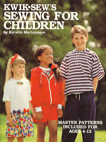 Kwik Sew Sewing for Children Master Pattern Book ks-children