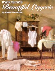 Kwik Sew Kwik Sew Beautiful Lingerie Book ks-lingerie