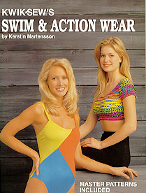 Kwik Sew Swim & Action Wear Book ks-swim