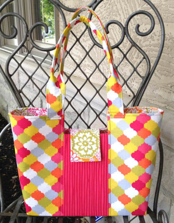 Lazy Girl Designs Gracie Handbag Downloadable Pattern 118
