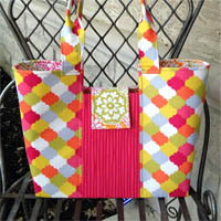 Gracie Handbag Paper Pattern