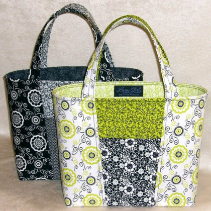 Lazy Girl Designs Claire Handbag Downloadable Pattern 125