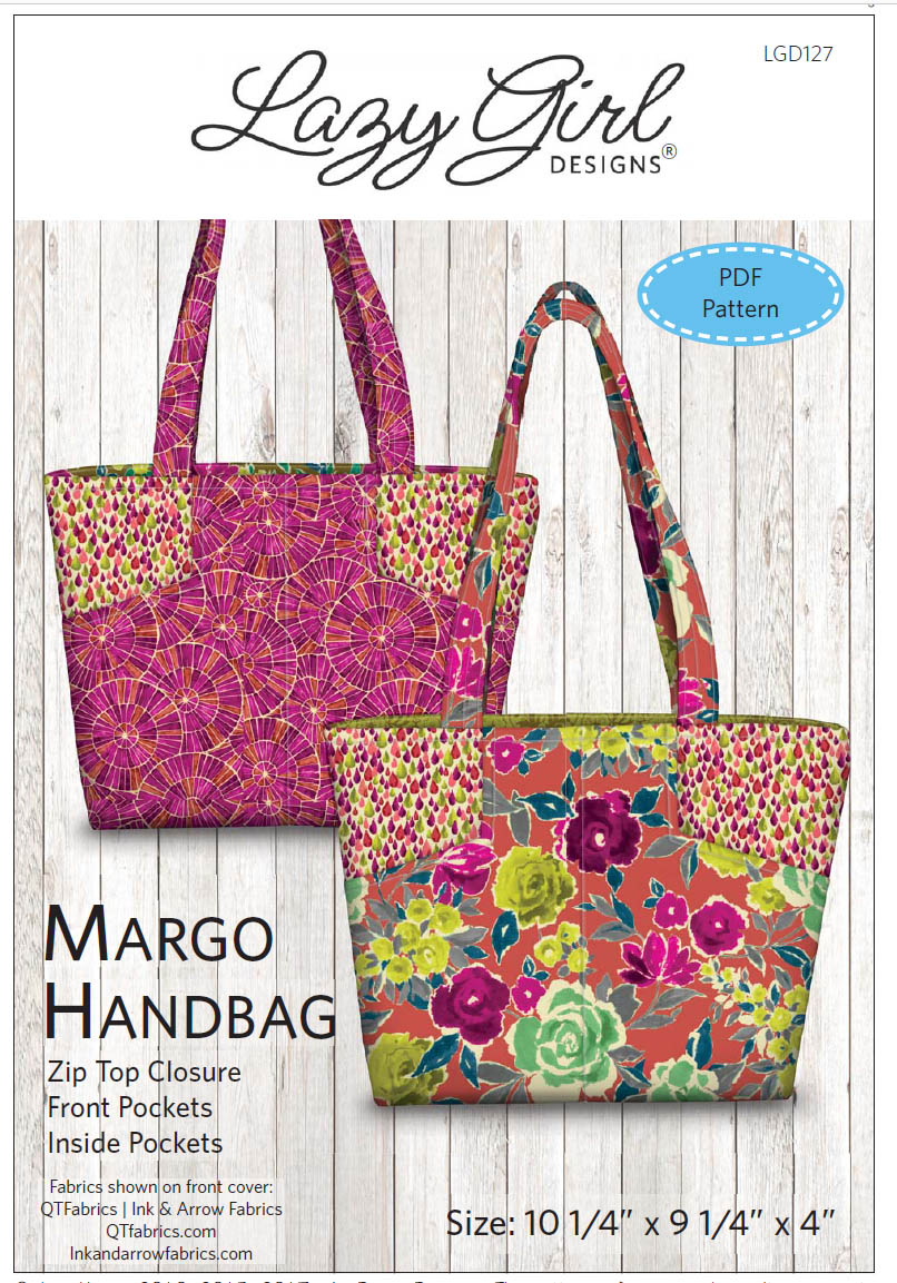 Lazy Girl Designs Margo Handbag Downloadable Pattern 127