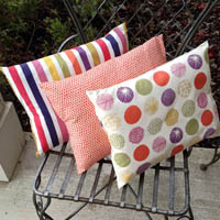 Lazy Girl Designs In a Pinch Pillow Paper Pattern