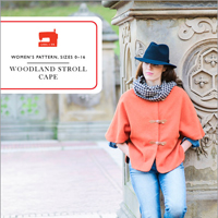 Liesl + Co. Woodland stroll cape Digital Pattern