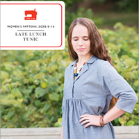 Liesl + Co. Late lunch tunic Digital Pattern