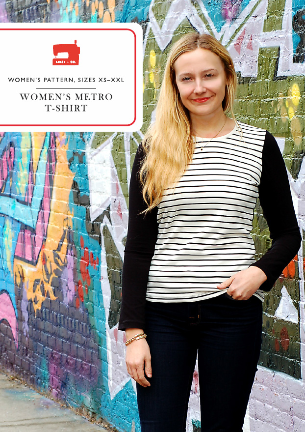 Liesl + Co. Women's Metro Shirt Downloadable Pattern LC007