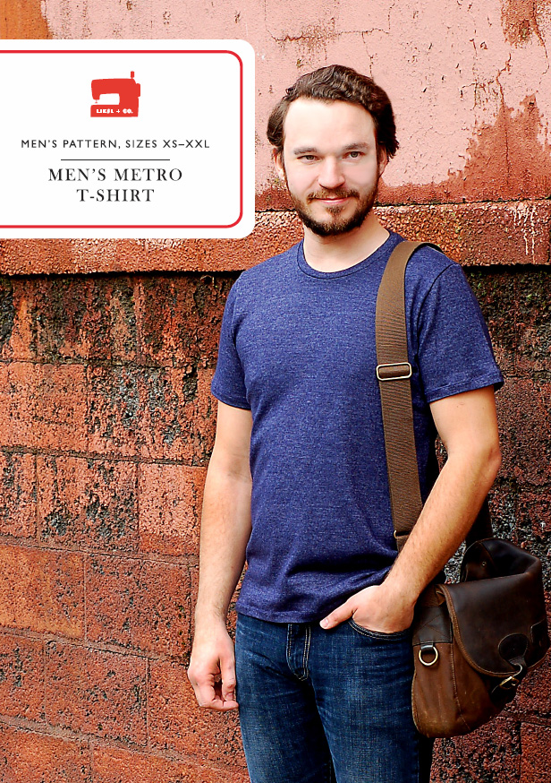 Liesl + Co. Men's Metro Shirt Downloadable Pattern LC008