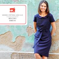 Liesl + Co. Bistro Dress Digital Pattern