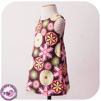 Lily Bird Studio A-line dress Digital Pattern