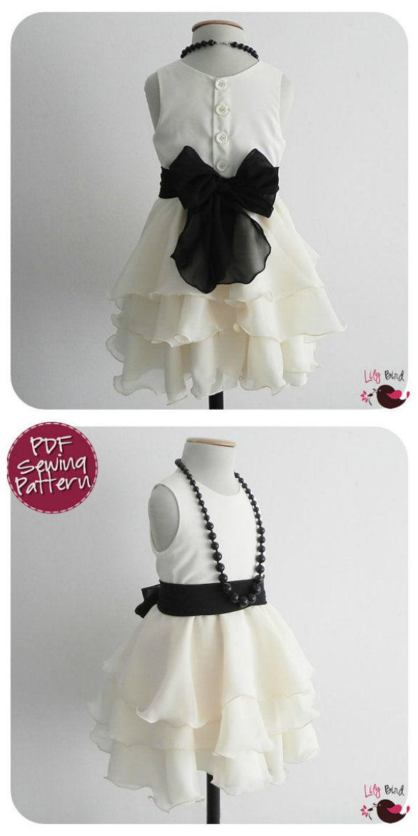 Lily Bird Studio Maddie's Dress Maddie's Dress