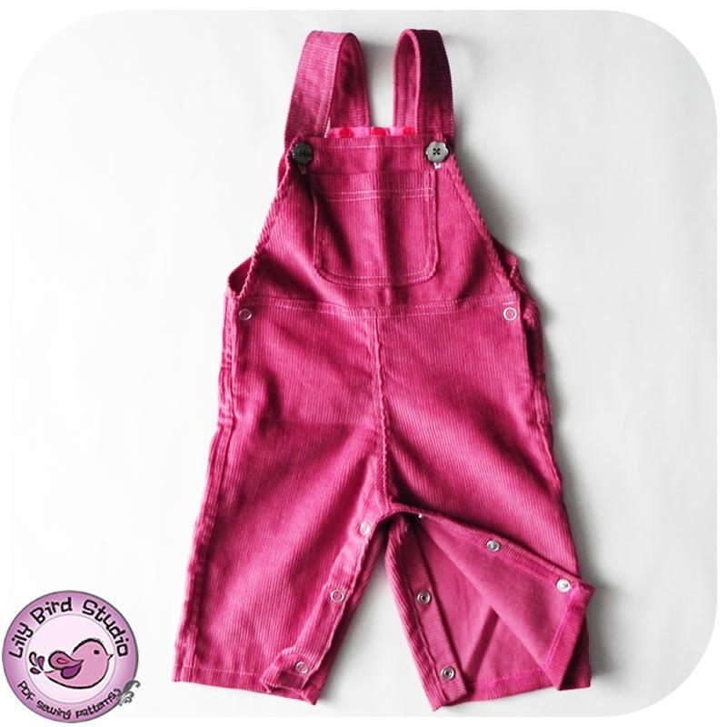 Lily Bird Studio Overall / Romper/ Jumpsuit for babies Romper
