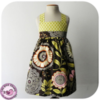 Lily Bird Studio Spring dress Digital Pattern