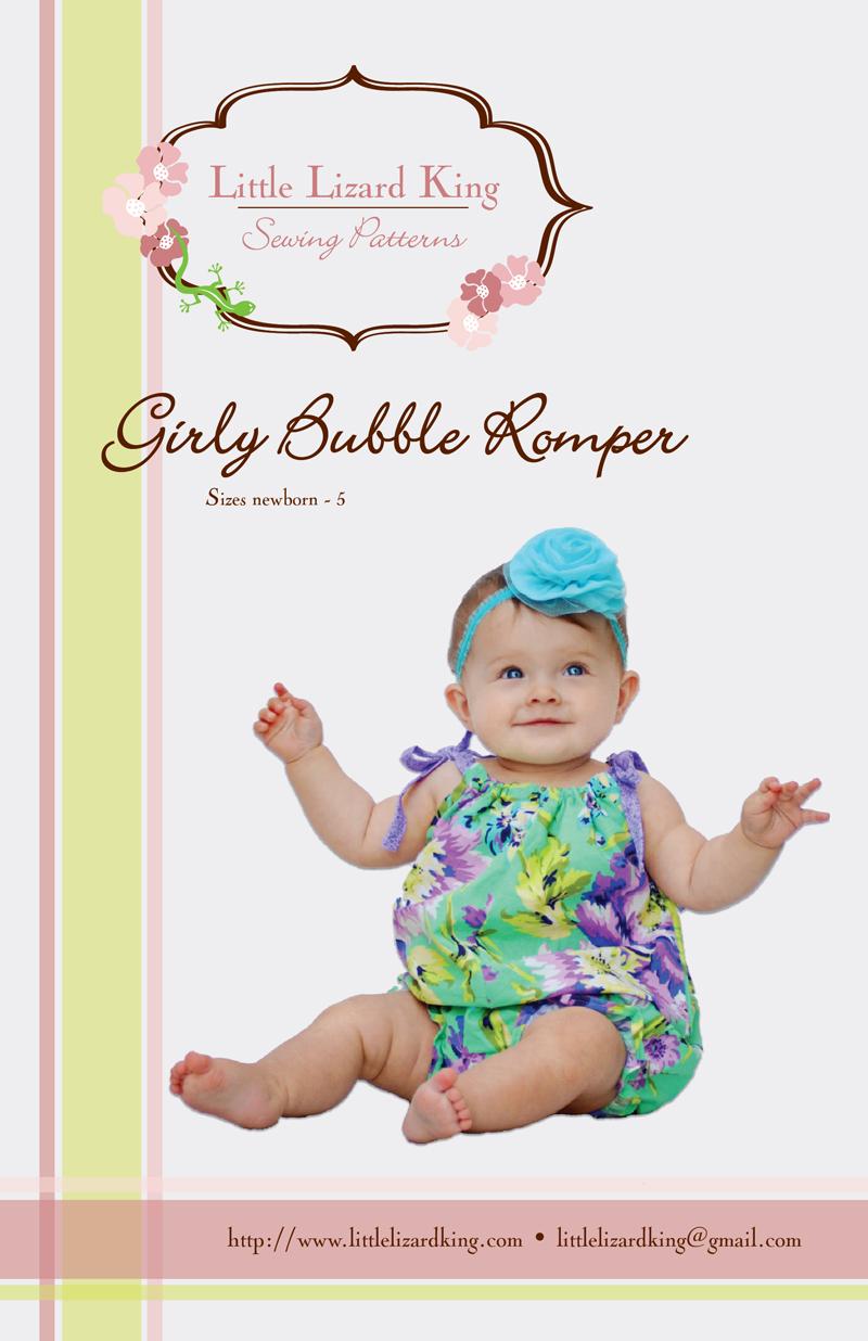 Little Lizard King Girly Bubble Romper 311