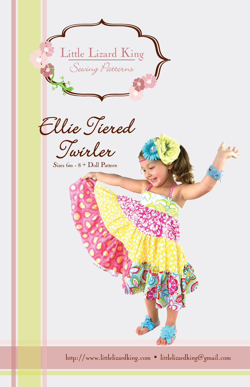 Little Lizard King Ellie Tiered Twirler 312