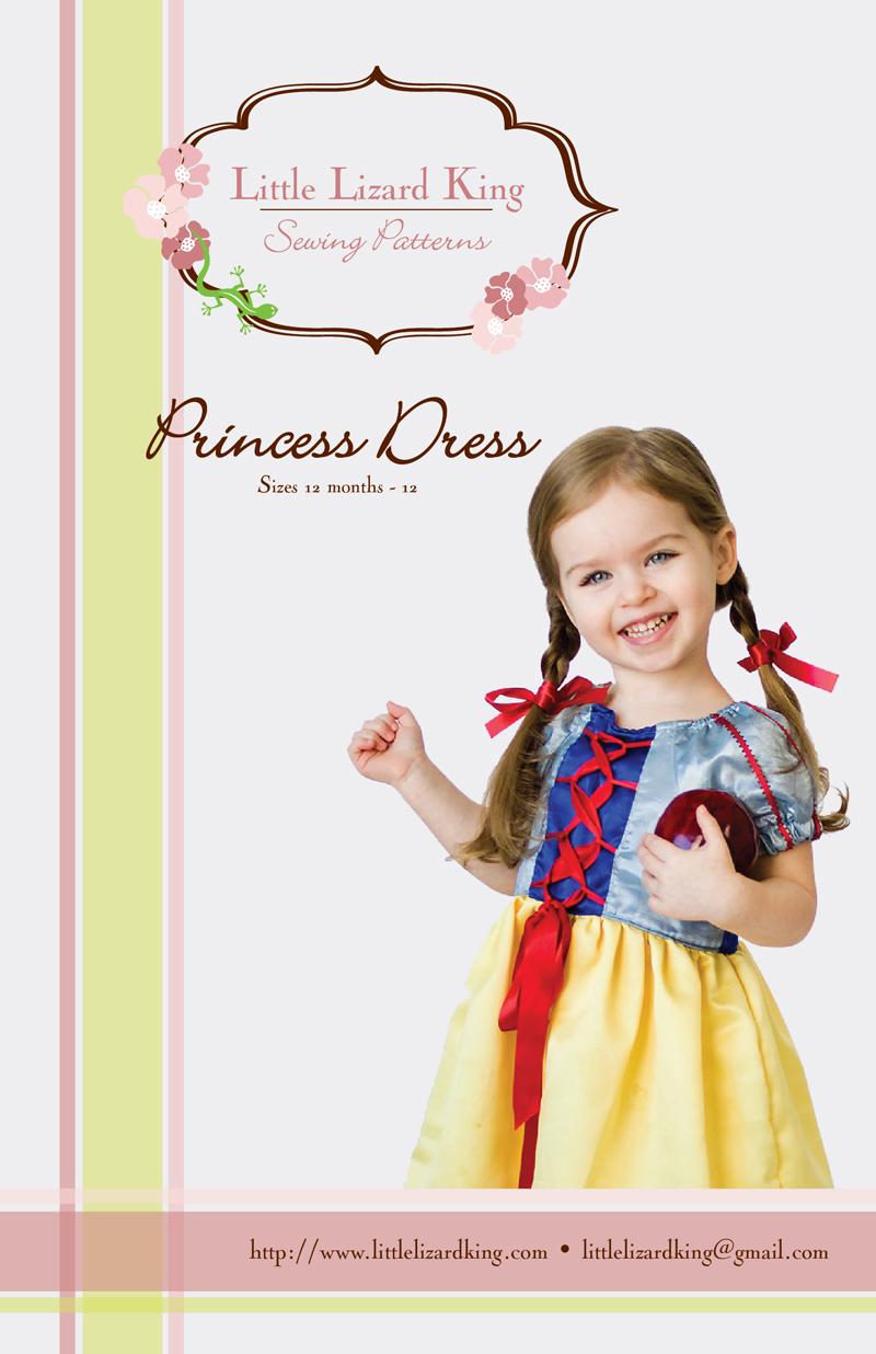 Little Lizard King Princess Dress 313