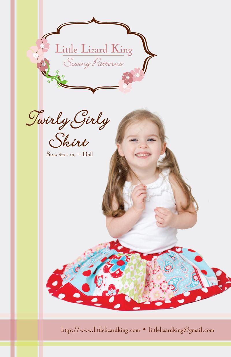 Little Lizard King Twirly Skirt 345