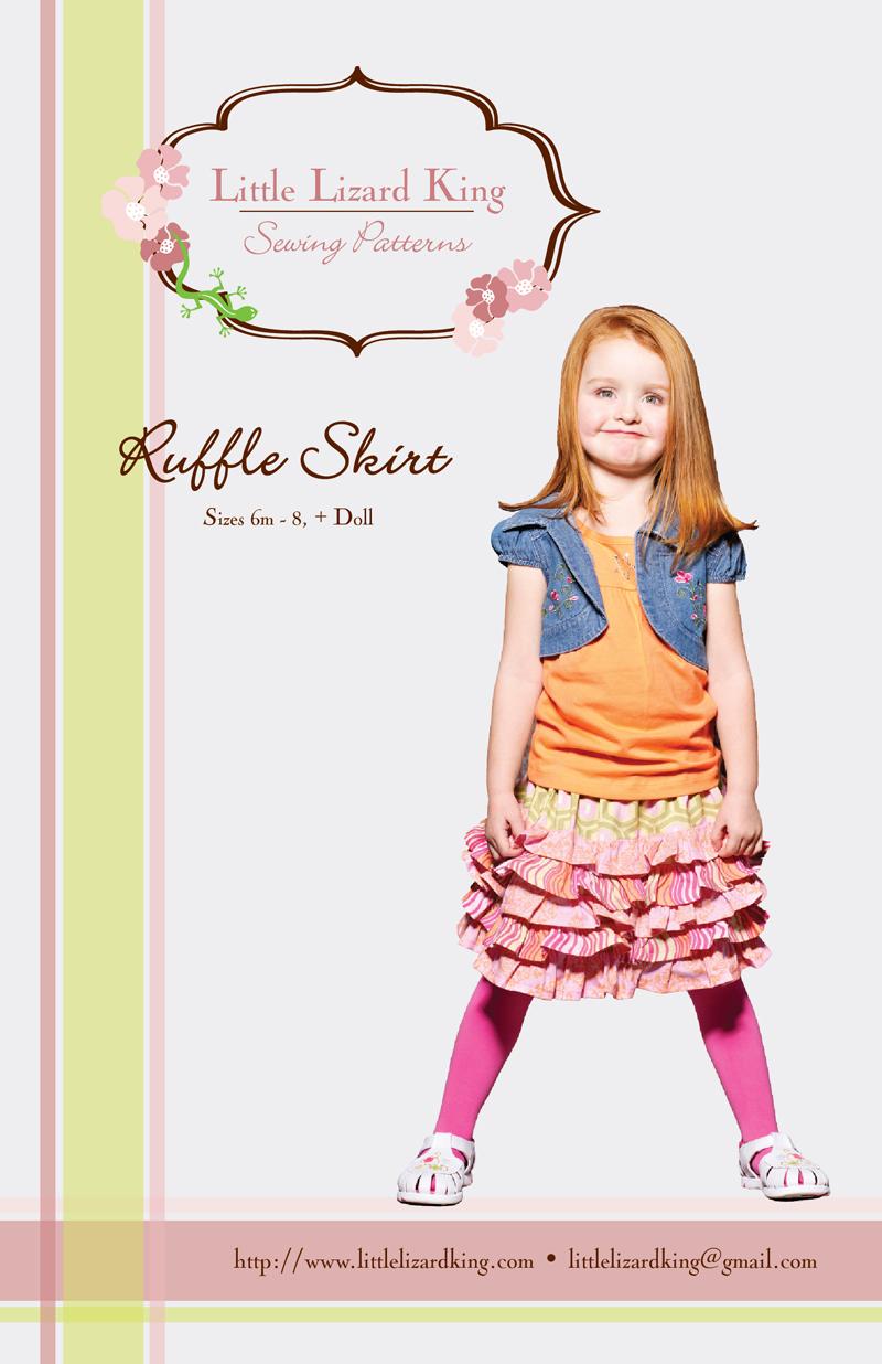 Little Lizard King Ruffle Skirt 350