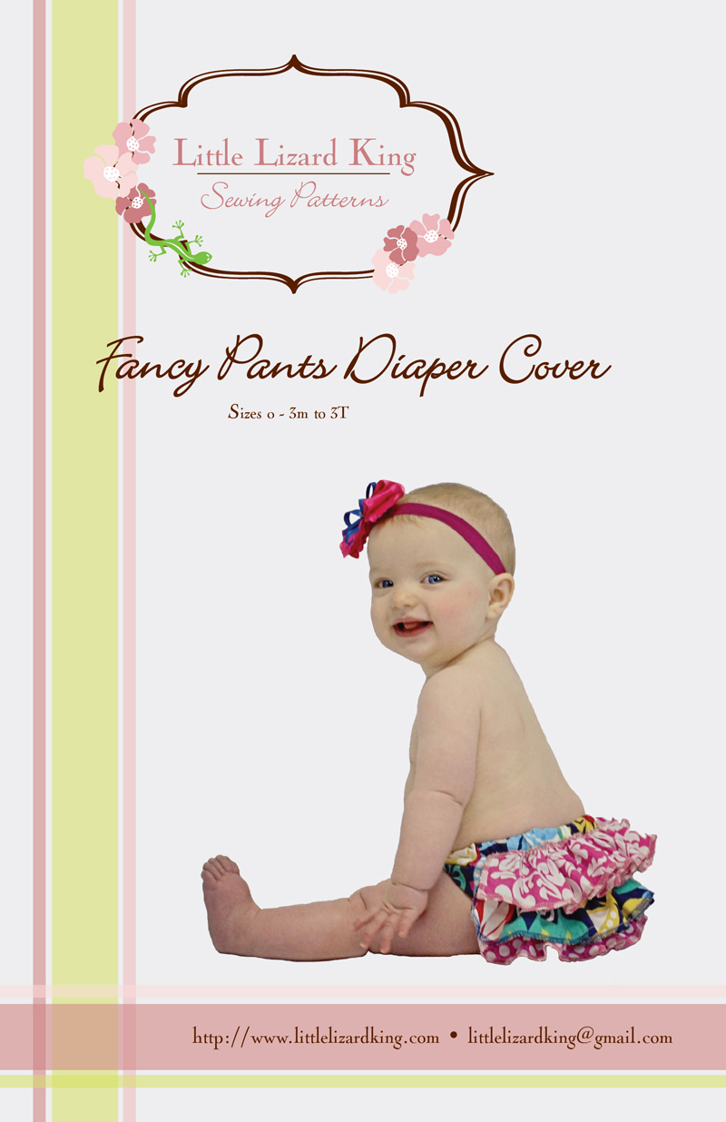 Little Lizard King Fancy Pants Diaper Cover 351