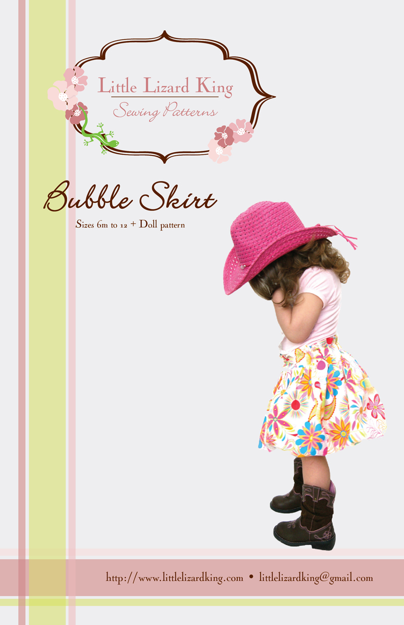Little Lizard King Bubble Skirt 356