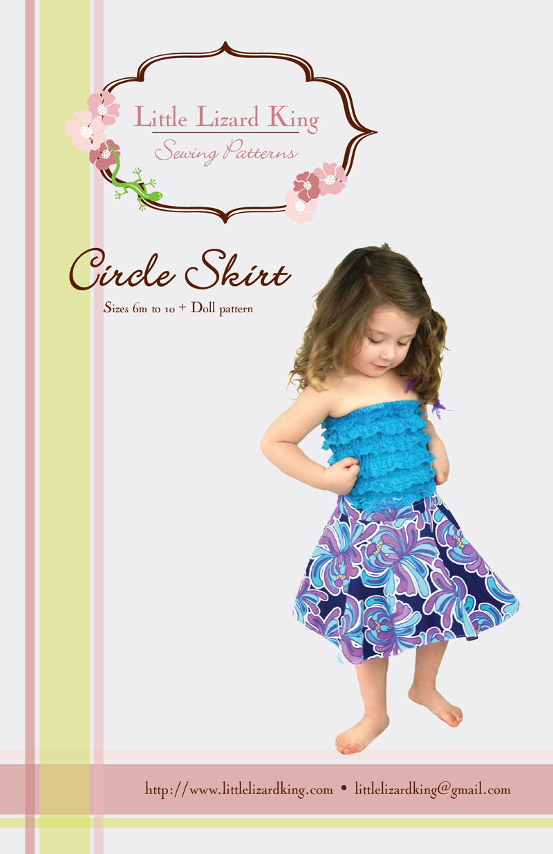 Little Lizard King Circle Skirt 357