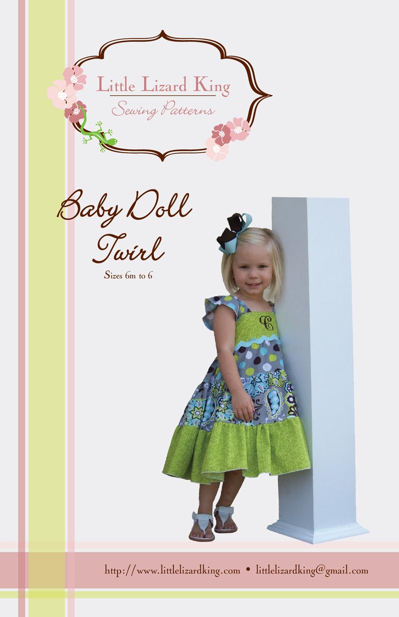 Little Lizard King Baby Doll Twirl Dress 358