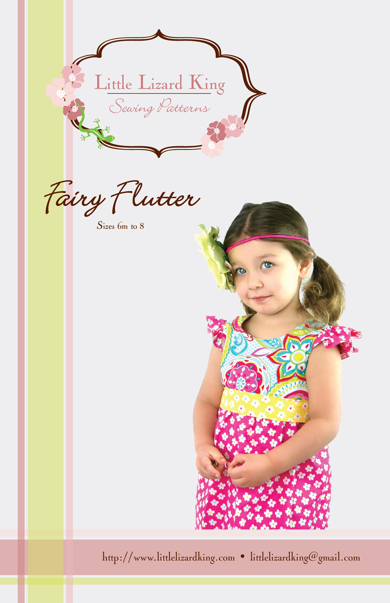 Little Lizard King Fairy Flutter Dress 360