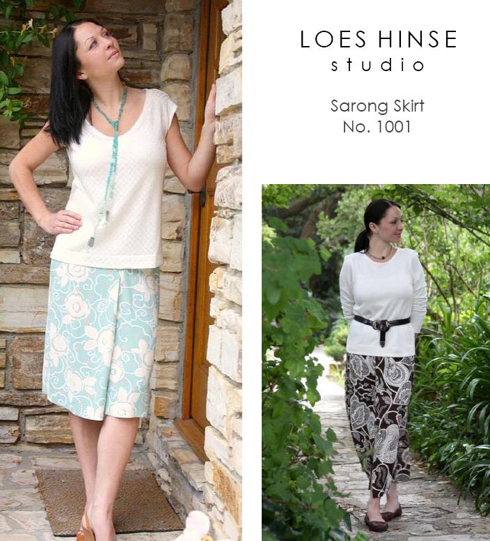 Loes Hinse Designs Sarong Skirt 1001