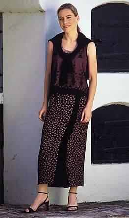 Loes Hinse Designs Wrap Skirt 5004