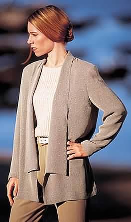 Loes Hinse Designs Kimono Jacket 5103