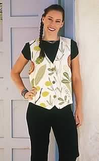 Loes Hinse Designs Venetian Vest 5104