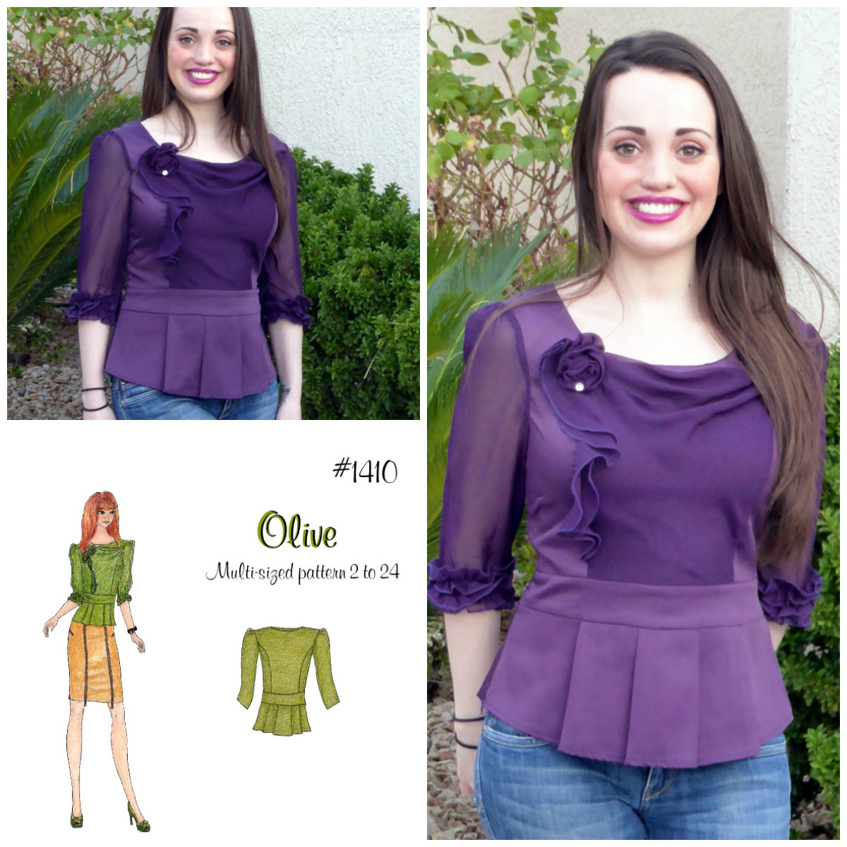 Lolita Patterns Olive 1410