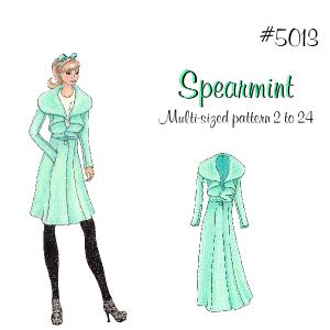 Lolita Patterns Spearmint 5013