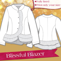 Love Notions Blissful Blazer Digital Pattern