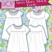 Love Notions Miss Mary Mack Tunic Digital Pattern