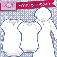 Love Notions Wrigley Raglan Digital Pattern