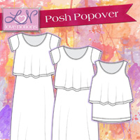 Love Notions Posh Popover Collection Digital Pattern