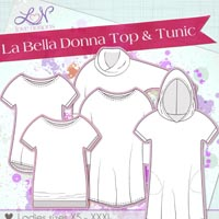 Love Notions La Bella Donna for ladies Digital Pattern