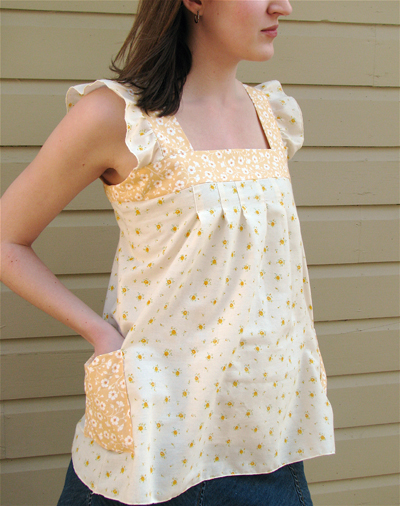 Made By Rae Spring Ruffle Top Spring Ruffle Top