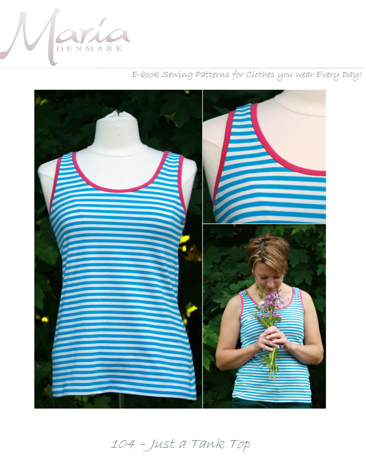 MariaDenmark Just a Tank Top Downloadable Pattern 104
