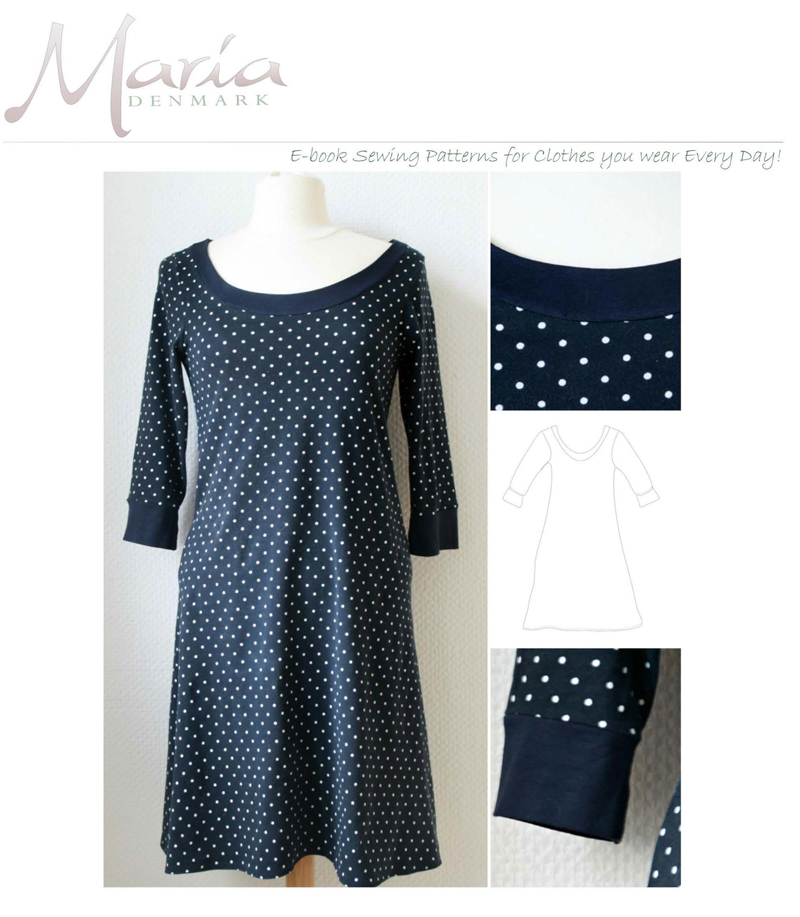 MariaDenmark Audrey Knit Dress 401