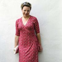 Maria Denmark Rachel Wrap Dress Digital Pattern