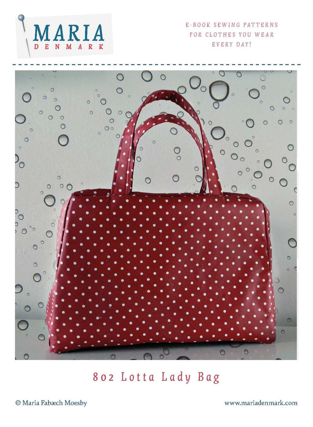 MariaDenmark Lotta Lady Bag Downloadable Pattern 802
