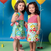 McCalls 7143 Pattern ( Size 4-5-6 )