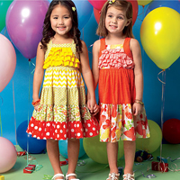 McCalls 7144 Pattern ( Size 4-5-6 )