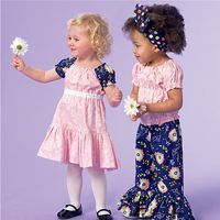 McCalls 7178 Pattern ( Size 4-5-6 )